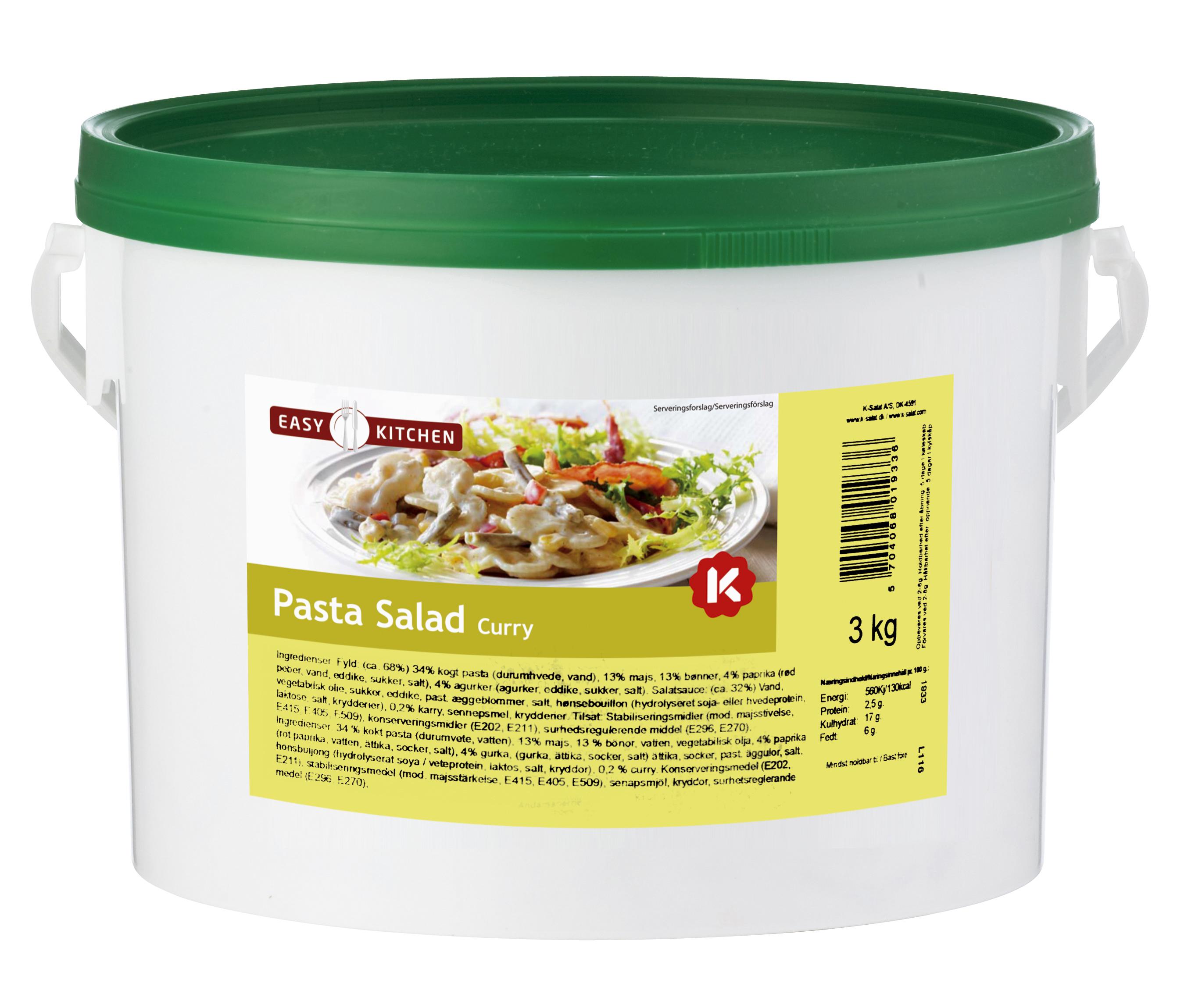 K-Salat Pastasalat Karrydressing 3 kg
